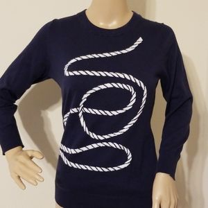 Banana Republic Stripe Design Sweater